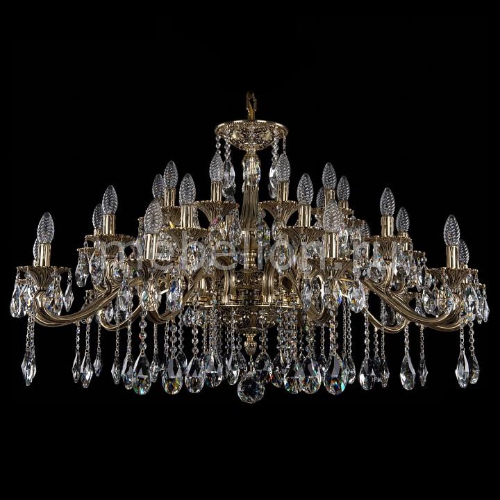 Подвесная люстра Bohemia Ivele Crystal 1709/30/410/A/GB 1709