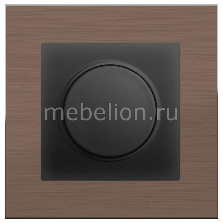 Диммера Werkel Aluminium (Черный матовый) WL08-AUDIOx4 +WL08-DM600 акустическая розетка werkel черный матовый wl08 audiox4
