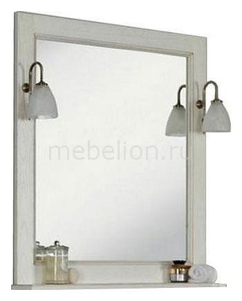 Зеркало с полкой Акватон Акватон Жерона 105 гарнитур для ванной акватон жерона 105 правый
