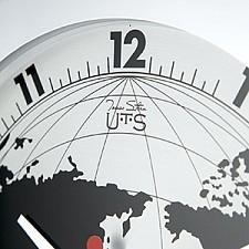 Настенные часы (41 см) Карта мира 4001S