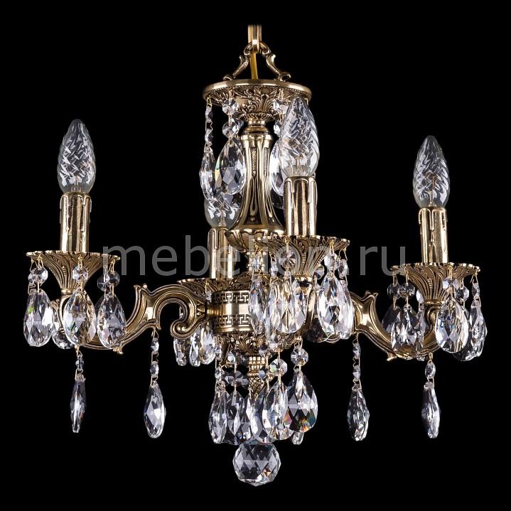 Подвесная люстра Bohemia Ivele Crystal 1707/4/125/A/GB 1707