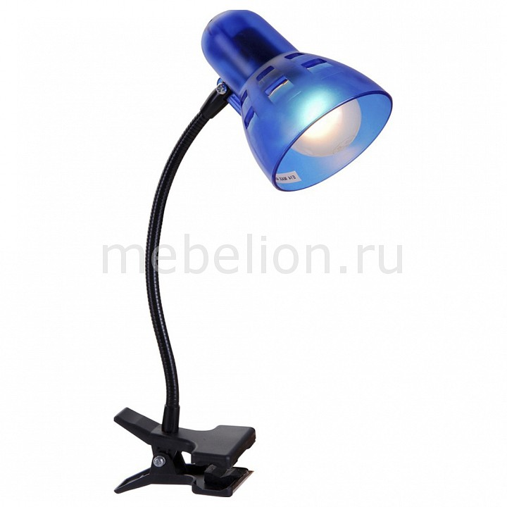 Настольная лампа офисная Globo Clip 54851 wired shine linght strobe siren for home alarm system