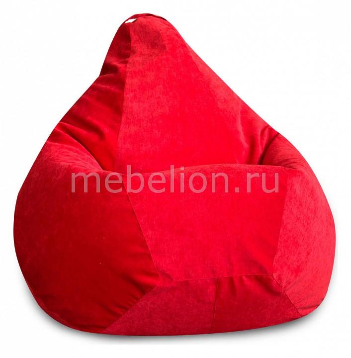 Кресло-мешок Красный Микровельвет XL