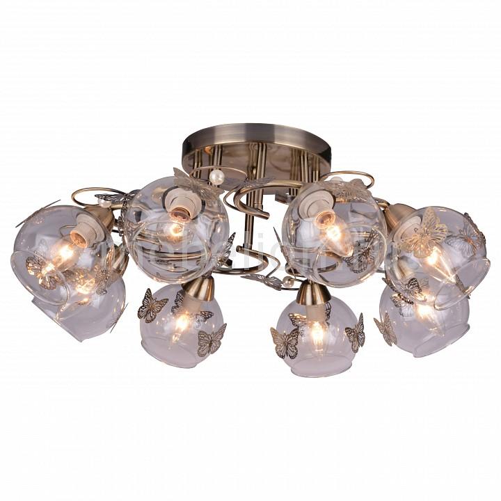 все цены на  Потолочная люстра Arte Lamp Alessandra A5004PL-8AB  онлайн