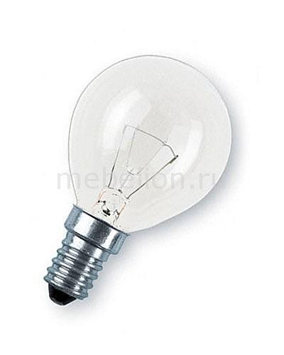Лампа накаливания Osram E14 60Вт 2600K 092423 лампа накаливания osram e14 60вт 2600k 092423