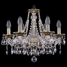 Подвесная люстра Bohemia Ivele Crystal 1613/6/165/GB 1613
