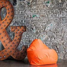 Кресло-мешок Фьюжн оранжевое II