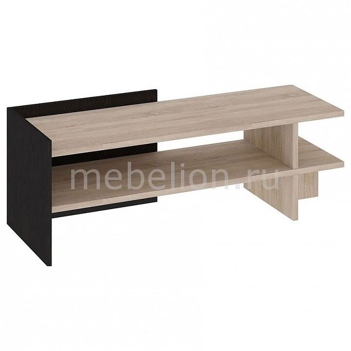 Мебель Трия Тумба под ТВ Мики Тип 1 ПМ-155.01 дуб сонома/венге цаво cтенка для гостиной трия нео пм 106 00 дуб сонома