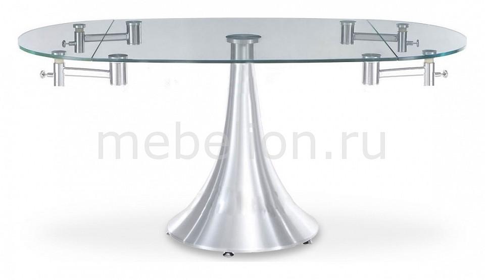 Стол обеденный Dupen T 017 хром стол обеденный dupen dt 02 орех
