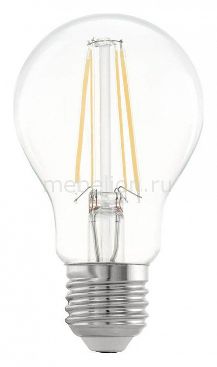 Лампа светодиодная Eglo A60 E27 220В 6.5Вт 2700K 11534
