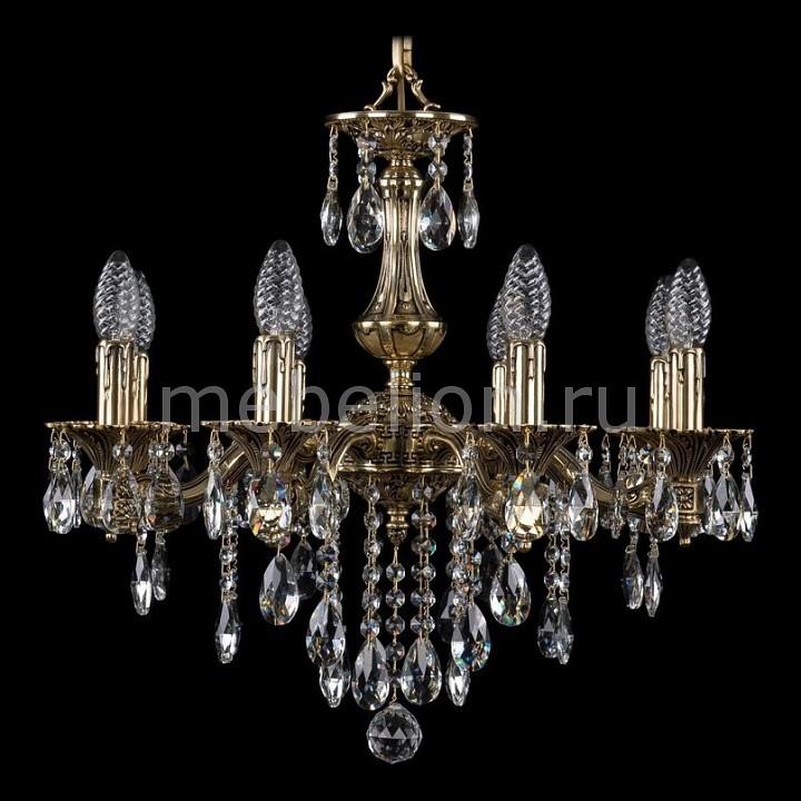 Подвесная люстра Bohemia Ivele Crystal 1710/8/160/B/GB 1710
