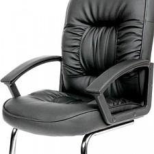 Кресло Chairman 418 V черный/хром