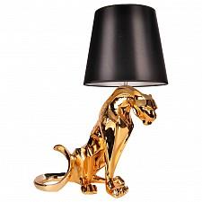 Настольная лампа декоративная Леопард 07701