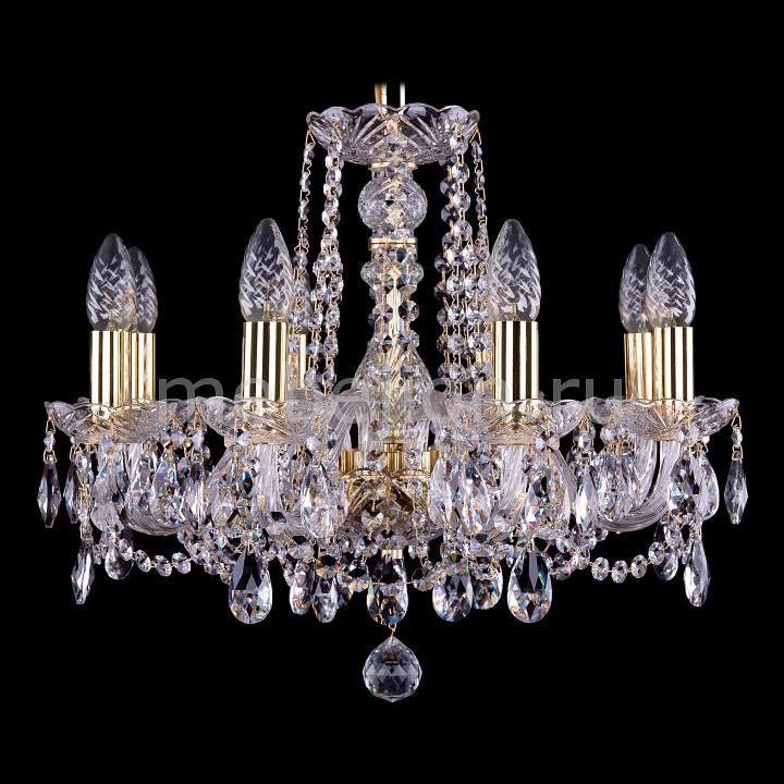 Подвесная люстра Bohemia Ivele Crystal 1402/8/160/G 1402