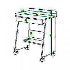 Стол компьютерный Живой дизайн СК-3