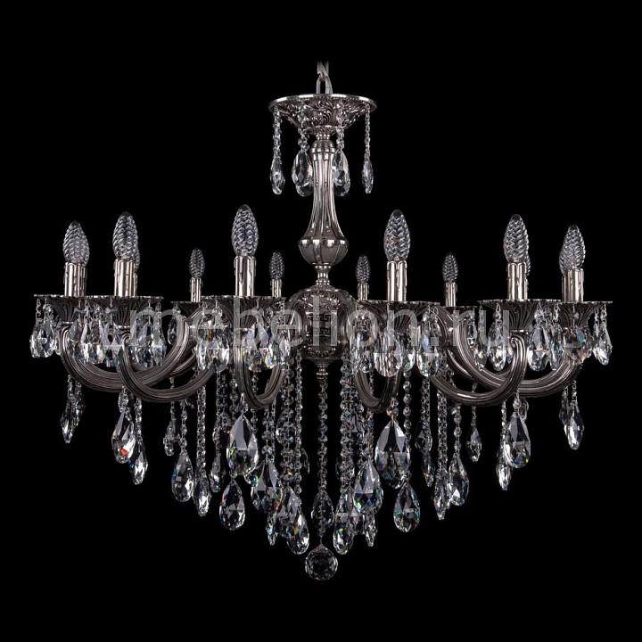 Подвесная люстра Bohemia Ivele Crystal 1702/14/335/B/NB 1702