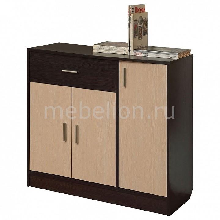 Купить Тумба Дуэт-2 венге/дуб линдберг, Олимп-мебель, Россия