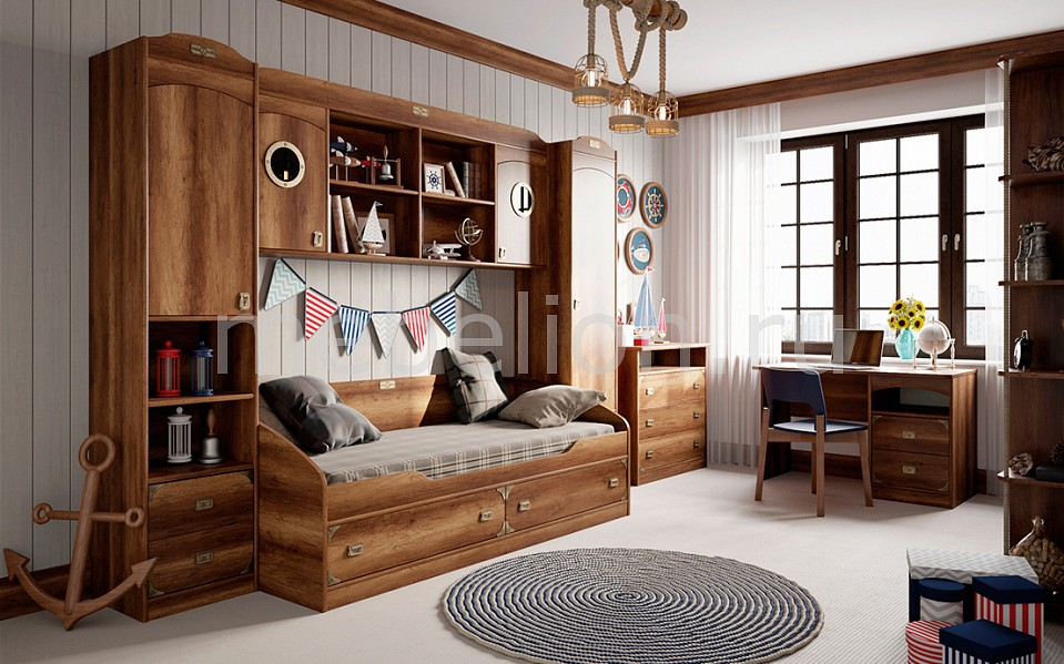 Гарнитур для детской Мебель Трия Навигатор гарнитур для детской мебель трия навигатор