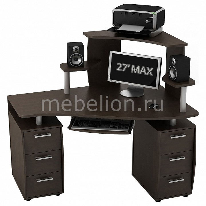 Стол компьютерный КС-14У 2Я КН-1 Ибис
