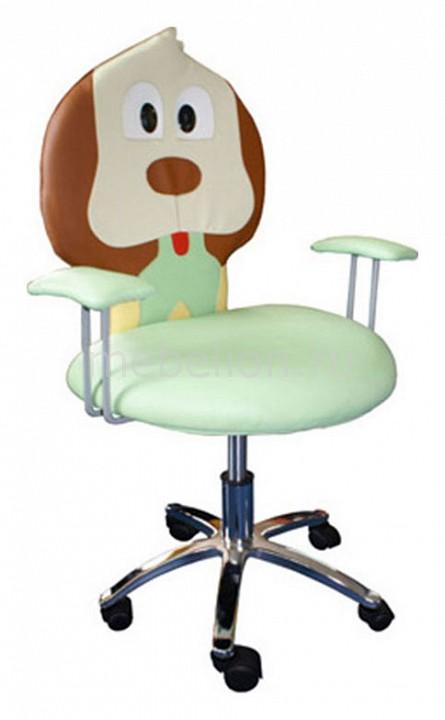 Кресло компьютерное CJ-02 зеленое mebelion.ru 3486.000