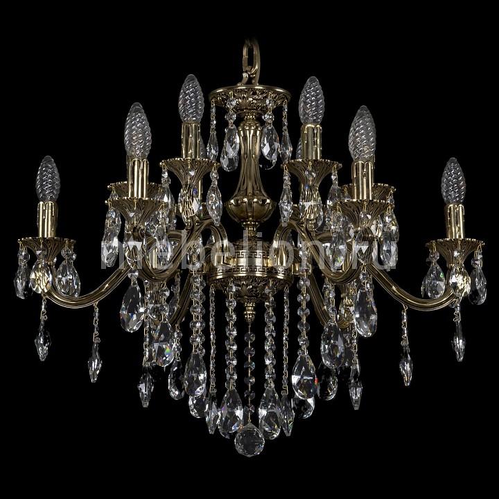 Подвесная люстра Bohemia Ivele Crystal 1703/12/225/B/GB 1703