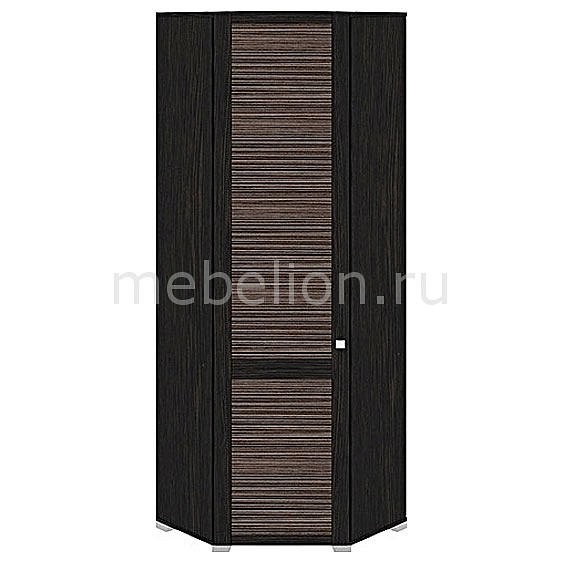 Шкаф платяной угловой Фиджи ШУ(08)_23L венге цаво/каналы дуба