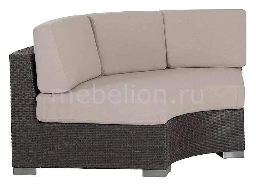Софа Sander 7029-6-2 коричневая mebelion.ru 44640.000