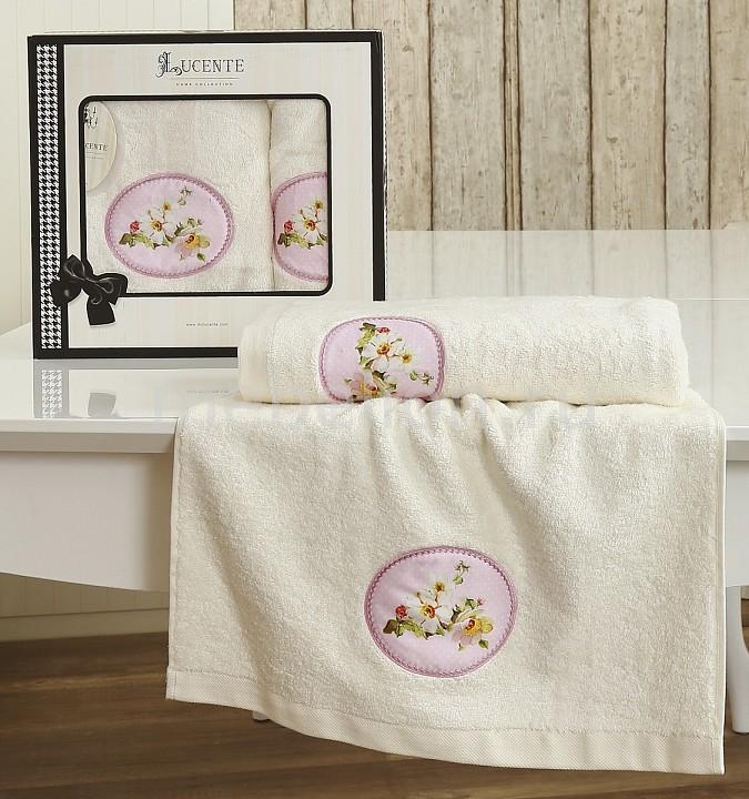 Набор полотенец для ванной Karna Набор из 2 полотенец для ванной MANGOLIA karna karna кухонный набор из 2 полотенец avze v21