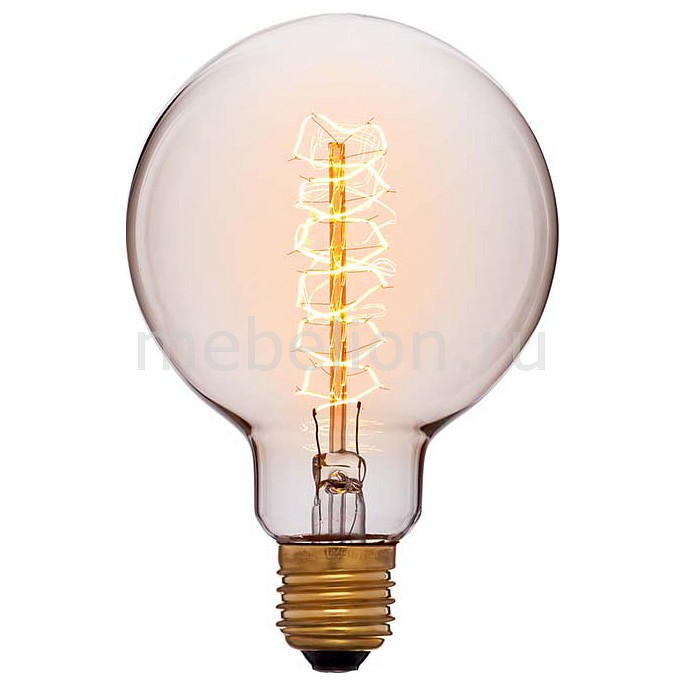 Лампа накаливания Sun Lumen G95 E27 240В 40Вт 2200K 053-655