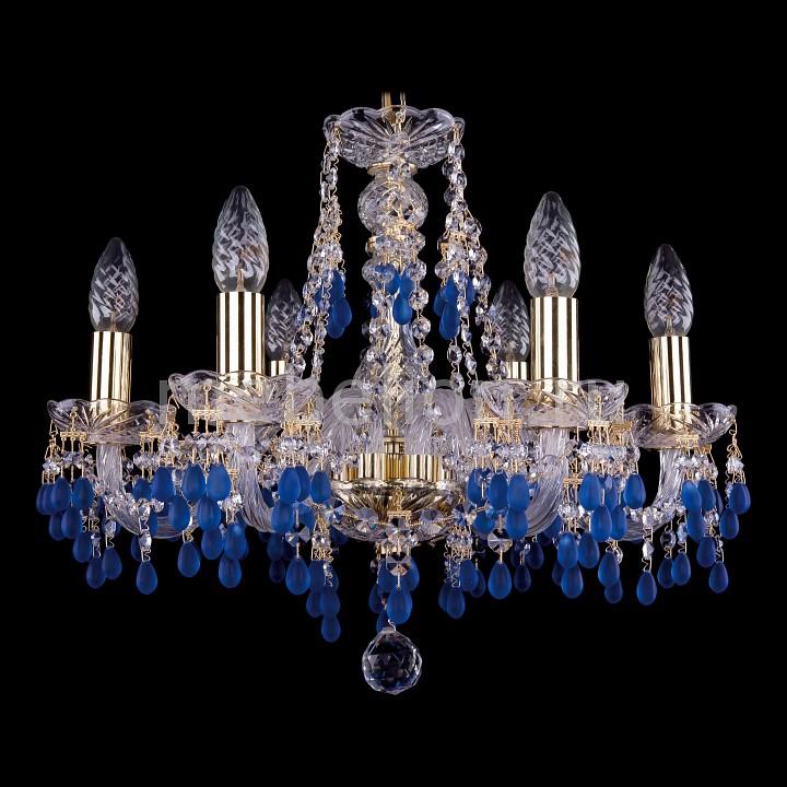 Подвесная люстра Bohemia Ivele Crystal 1410/6/160/G/V3001 1410