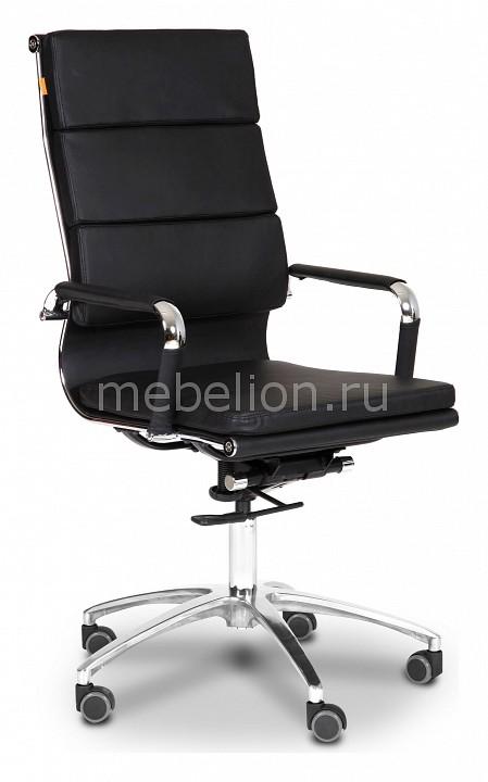 Кресло компьютерное Chairman 750 черный/хром