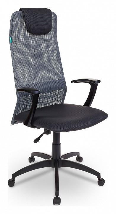Кресло компьютерное Бюрократ KB-8/DG/TW-12 кресло детское бюрократ kd 8 tw 13a