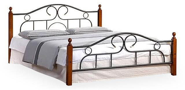 Кровать двуспальная 808  кресло пуфик фото