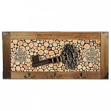 Настенная вешалка Акита (52х23 см) Ключ 314-6