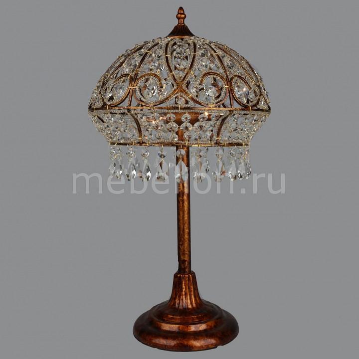 Настольная лампа декоративная Omnilux OML-713 OML-71314-02 вечернее платье