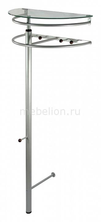Вешалка напольная Мебелик Вешалка-стойка Галилео 211 зеркало мебелик галилео 158 чёрный