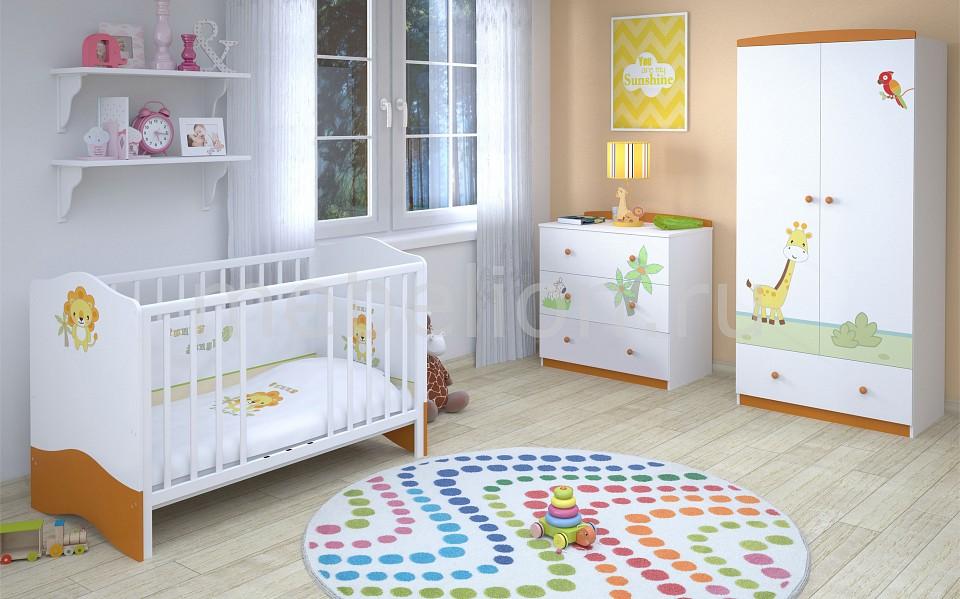 Гарнитур для детской Polini Basic Джунгли