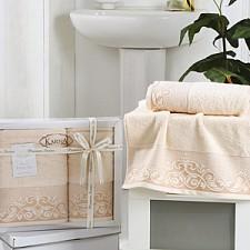 Набор полотенец для ванной Karna Набор из 2 полотенец для ванной BEYZA