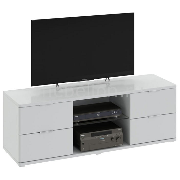 Тумба под ТВ Мебель Трия Diamond тип 3 мебель малайзии тумба 4339 th цвет белый