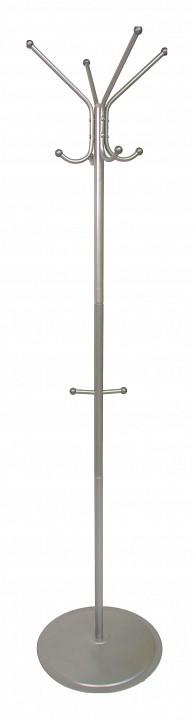 Вешалка напольная Мебелик Вешалка-стойка Пико 1 металлик вешалка напольная мебелик вешалка стойка м 1 металлик