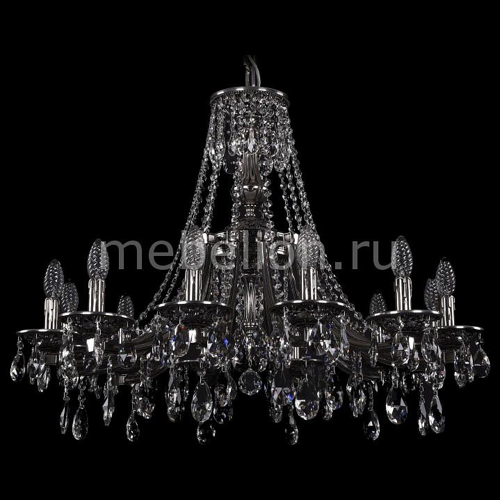 Подвесная люстра Bohemia Ivele Crystal 1771/12/270/A/NB 1771