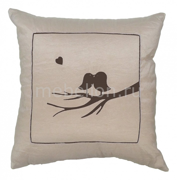Подушка декоративная (45х45 см) Птичка 21530411