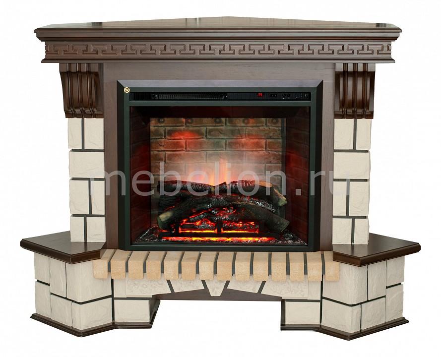 Электрокамин напольный Real Flame (142х99х105.8 см) Stone New Corner 00010010482 realflame электрокамин напольный real flame tokio белый дуб