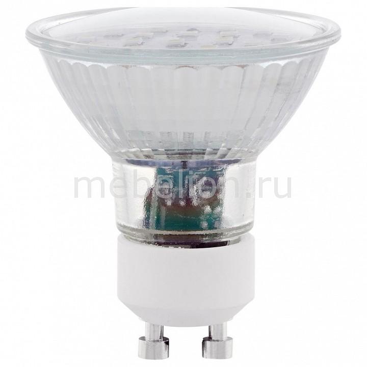 Лампа светодиодная [поставляется по 10 штук] Eglo Лампа светодиодная SMD GU10 5Вт 3000K 11535 [поставляется по 10 штук] цена
