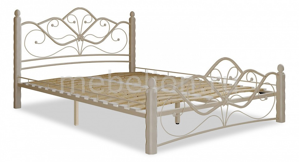 Кровать двуспальная Мебвилл Венера 1 2000х1600 спальня венера комплектация 1