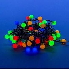 Гирлянда с насадками (5.4 м) Uniel Разноцветные шарики 07928
