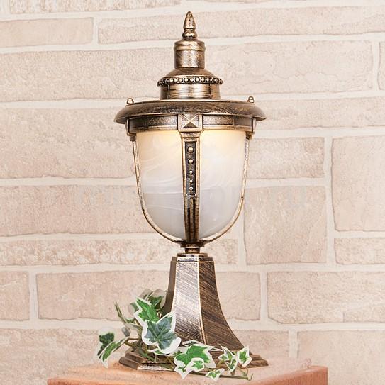 лучшая цена Наземный низкий светильник Elektrostandard Atlas S (GLYF-2010S) черное золото