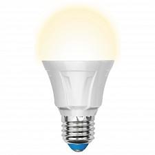 Лампа светодиодная E27 220В 11Вт 3000K LED-A60-11W/WW/E27/FR/DIM PLP01WH