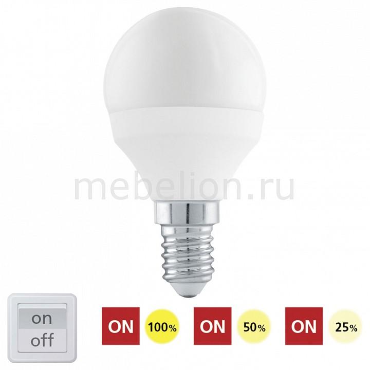 цены Лампа светодиодная диммируемая [поставляется по 10 штук] Eglo Лампа светодиодная диммируемая P45 E14 6Вт 4000K 11584 [поставляется по 10 штук]