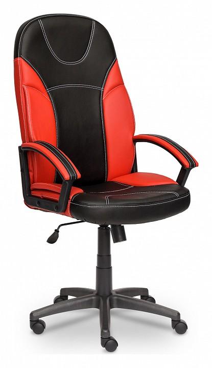Кресло компьютерное Tetchair Twister черный_красный